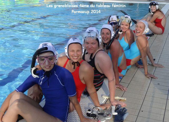 équipe féminine Grenoble_Parmacup2014--