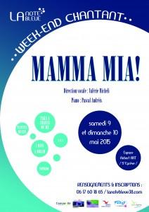 Mamma mia_affiche A3