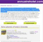 Annuaire Hôtels Grenoble