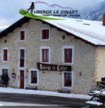 Auberge Le Collet – Hôtel ** – Restaurant – Vercors