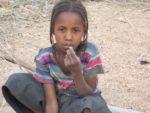 petite fille à Témil