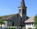 Site officiel de Saint Albin de Vaulserre (Isère)