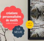 Nathalie Monnier – créations personnalisées de motifs textiles et muraux