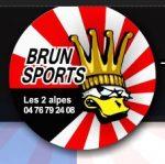 Brun sports aux 2 Alpes